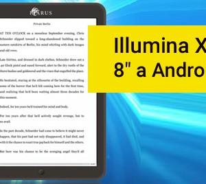 """Illumina XL nová čtečka e-knih s 8"""" displejem a Androidem"""