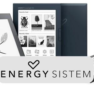 Nové modely čteček e-knih Energy Sistem eReader