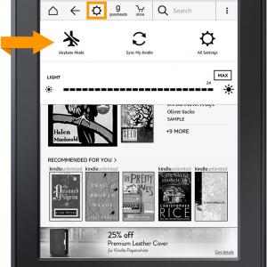 Nová aktualizace pro čtečky Amazon Kindle verze 5.7.3