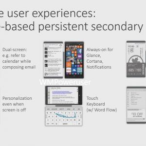 Smartphony Microsoft Lumia s druhým E-ink displejem?