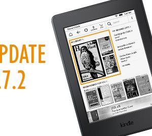 Nová aktualizace pro čtečky Amazon Kindle verze 5.7.2
