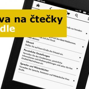 Akce na čtečky Kindle