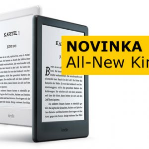 All New Kindle - nová čtečka e-knih od Amazonu