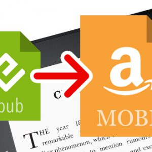 Jak rychle převést eknihy z EPUB na MOBI