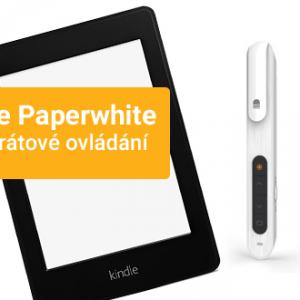 Kindle Paperwhite a bezdrátové ovládání