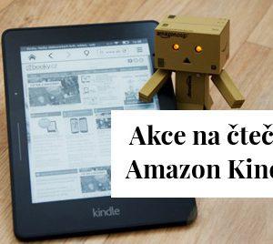 Akce na čtečky Kindle (Cyber Monday Week)