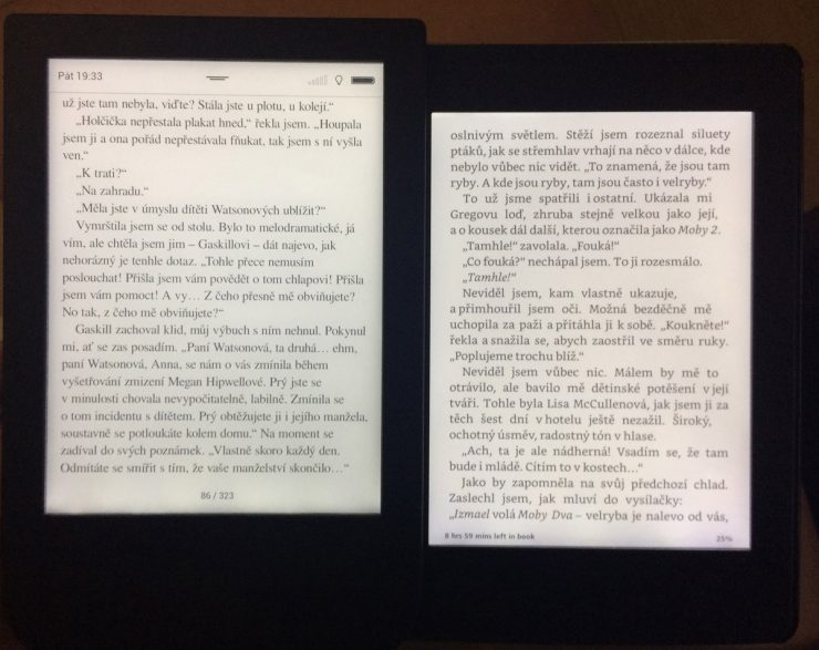 PocketBook Touch HD vs Kindle Paperwhite 3