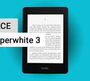 Akce Kindle Paperwhite 3 za 2 400 Kč