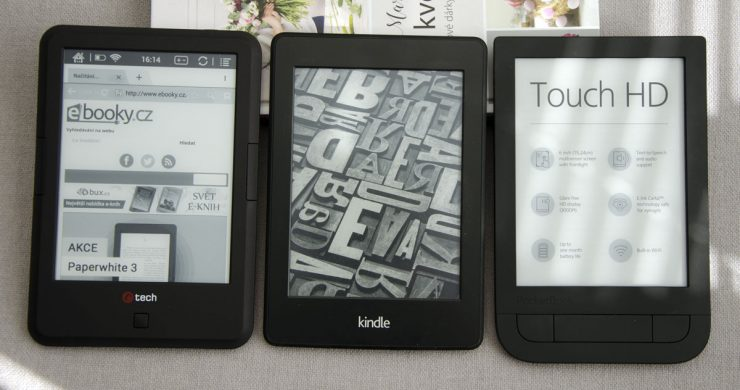 C-TECH Lexis, Kindle Paperwhite 3, PocketBook Touch HD