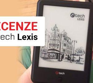 C-TECH Lexis - recenze čtečky e-knih