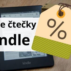 Slevová akce na čtečky Amazon Kindle a tablety