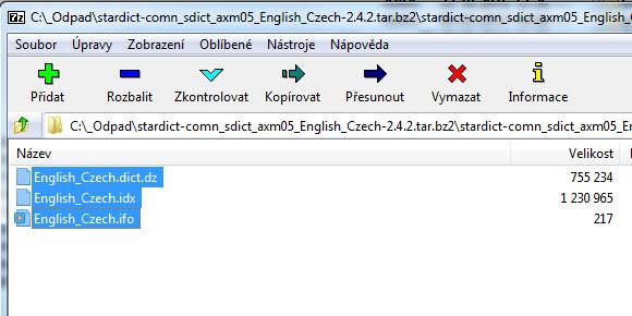 C-Tech Lexis slovníky