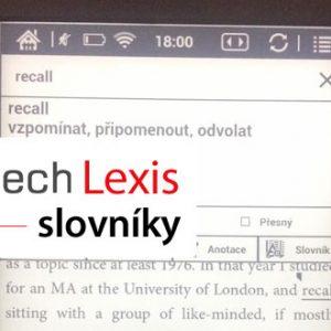 Jak na slovníky pro čtečku eknih C-Tech Lexis