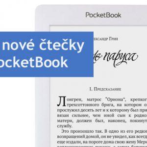 Dva nové modely čteček e-knih od PocketBook