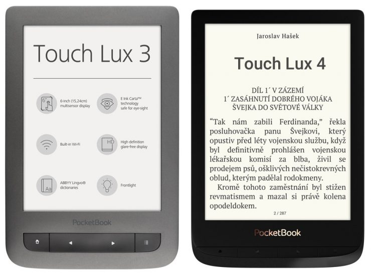 PocketBook Touch Lux 4 (PocketBook 627)