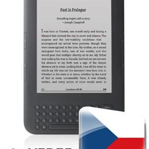 Nová čeština pro čtečku elektronických knih Amazon Kindle