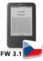 Čeština pro Amazon Kindle 3 s firmware 3.1