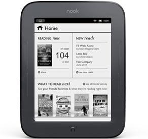 Barnes & Noble bude prodávat NOOK s dotykovým displejem