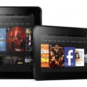 Amazon prodává tablet Kindle Fire HD a čtečku Kindle Paperwhite za cenu výrobních nákladů