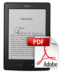 Pohodlné přeformátování PDF dokumentů pro displeje čteček Kindle