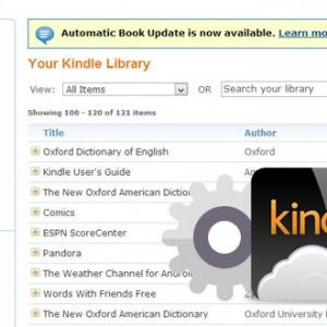 Jak si dát do richtiku dokumenty ve vaší online knihovně Kindle Library