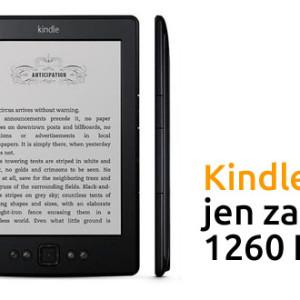Kindle 5 bez reklam jen za 1260 Kč