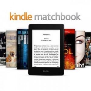 Amazon spustil službu Kindle Matchbook – e-kniha ke klasické knize zdarma