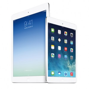 Apple představil nové tablety iPad Air a iPad mini Retina
