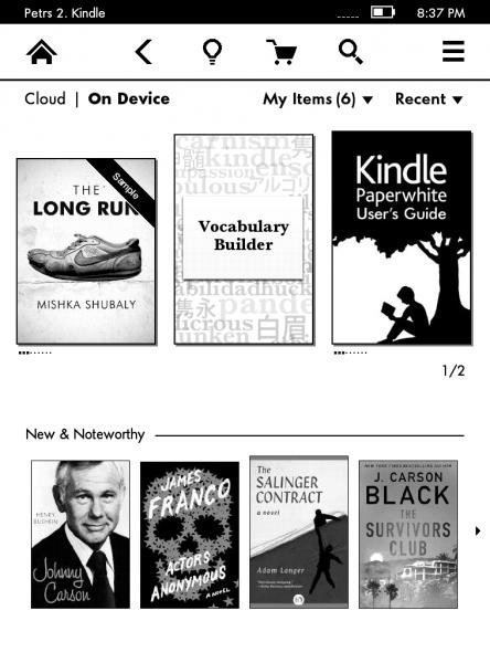 Kindle Paperwhite Vocabulary Builder kniha