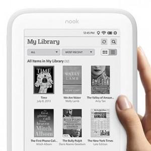 NOOK GlowLight nová čtečka e-knih od Barnes & Noble