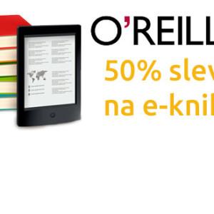 50% sleva na e-knihy v obchodě O´Reilly