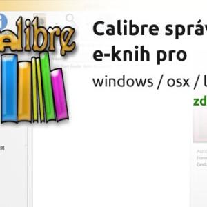 Calibre - spravujte si knihovnu e-knih pohodlně a zadarmo