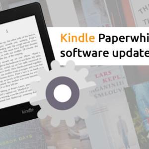 Starší Kindle Paperwhite má nový software update 5.3.9