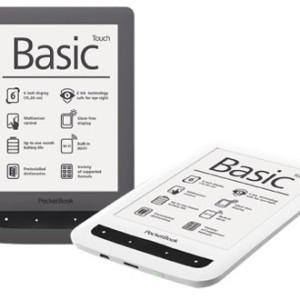 PocketBook Basic Touch s multidotykovým displejem Film Touch