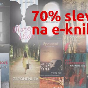 První předvánoční akce na e-knihy s 70% slevou