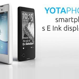 Bližší představení YotaPhone - smartphone s E Ink displejem