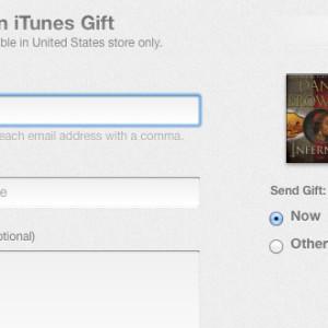 Apple spustil možnost darování eknih v iBook Store