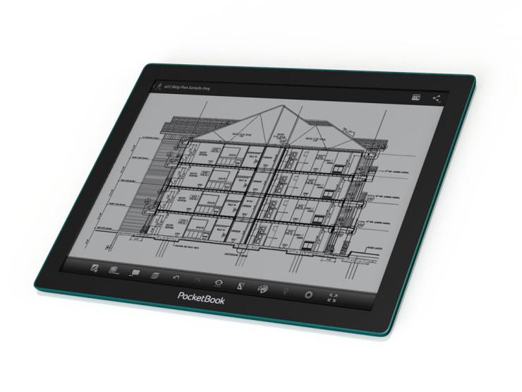 """PocketBook CAD 13,3"""" E Ink displej"""