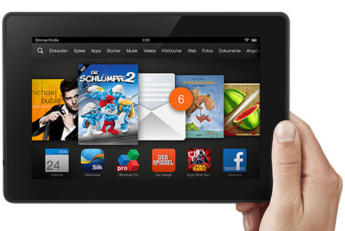 Tablet Kindle Fire HD