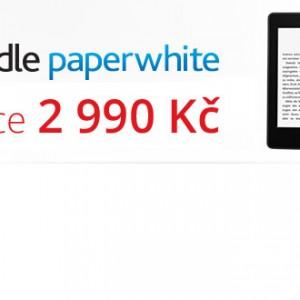 Akce Kindle Paperwhite za 2 990 Kč bez reklam
