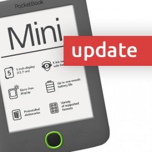 Jak na update PocketBook 515 Mini