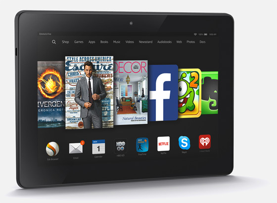 Kindle Fire HDX 8,9""