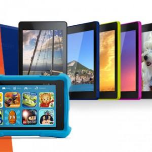 Nové tablety Kindle Fire