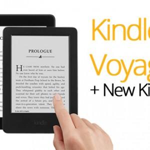 Kindle Voyage a Kindle - nové čtečky jsou venku