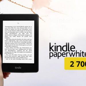Akce Kindle Paperwhite 2 za 2700 Kč