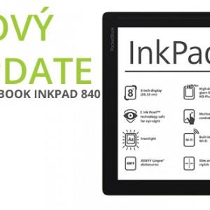 Čtečka PocketBook Inkpad 840 dostala nový update