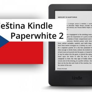 Čeština pro Kindle Paperwhite 2 a další modely Kindle