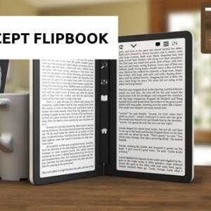 Flipbook - povedený koncept čtečky e-knih s dvěma E Ink displeji