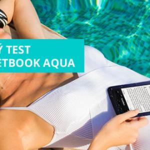 Drsný test čtečky eknih PocketBook Aqua