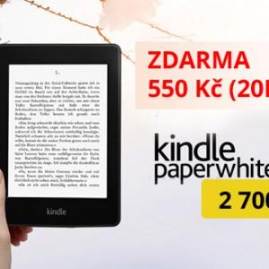 Akce - Kindle Paperwhite 2 za 2700 Kč